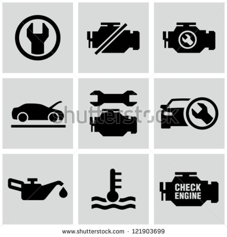 Engine Dashboard Icons