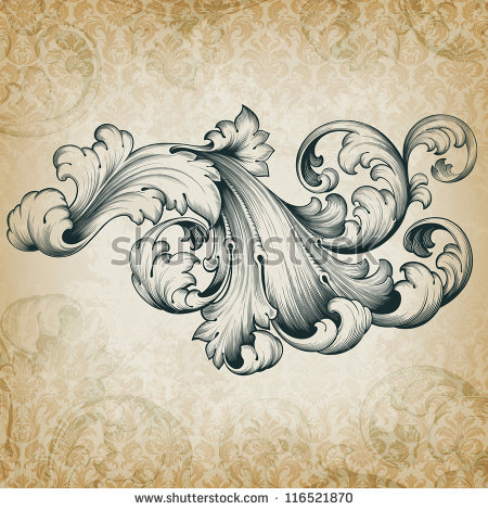 18 Filigree Floral Design Pattern Images
