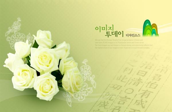 Flowers PSD Templates