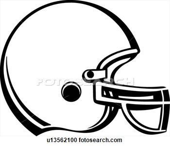 10 Football Helmet Vector Clip Art Images