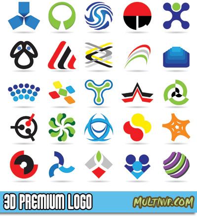 16 3D Logo Templates Images