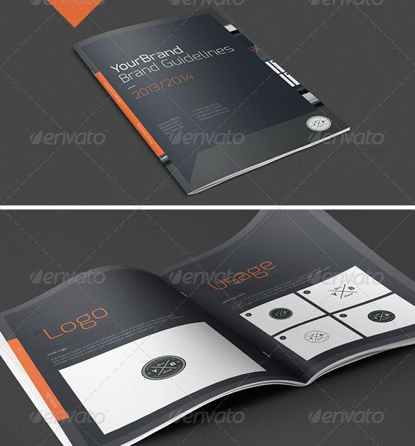 Free A4 Template Brochure Design