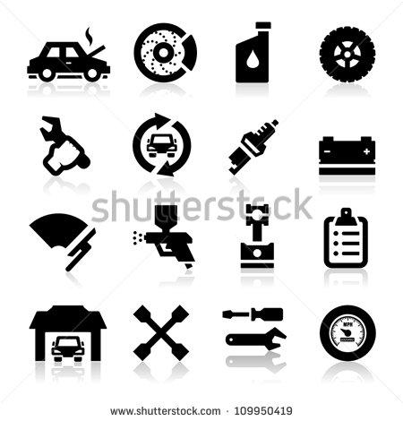 Free Auto Repair Icons