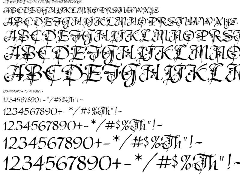 Decorative Font Styles