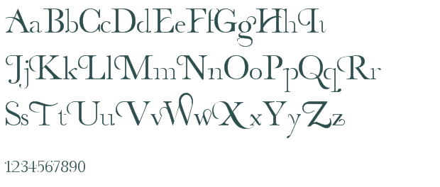 8 Free Decorative Fonts Images