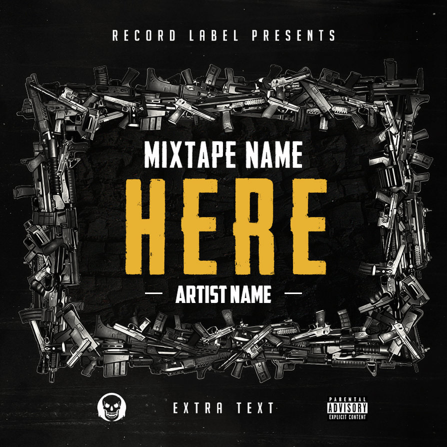 Free Hip Hop Mixtape Cover