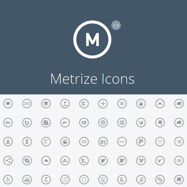15 Metro UI Icons Vector Images