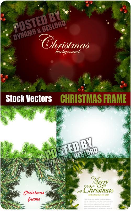 8 PSD Christmas Frames Images