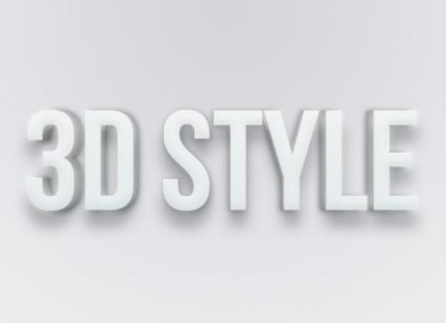 Free Photoshop Text Effect Styles