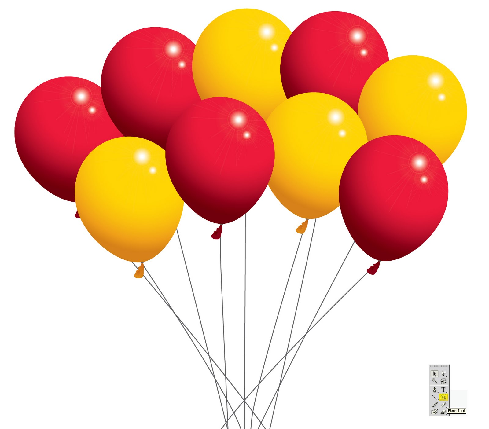 Free Vector Balloon Clip Art