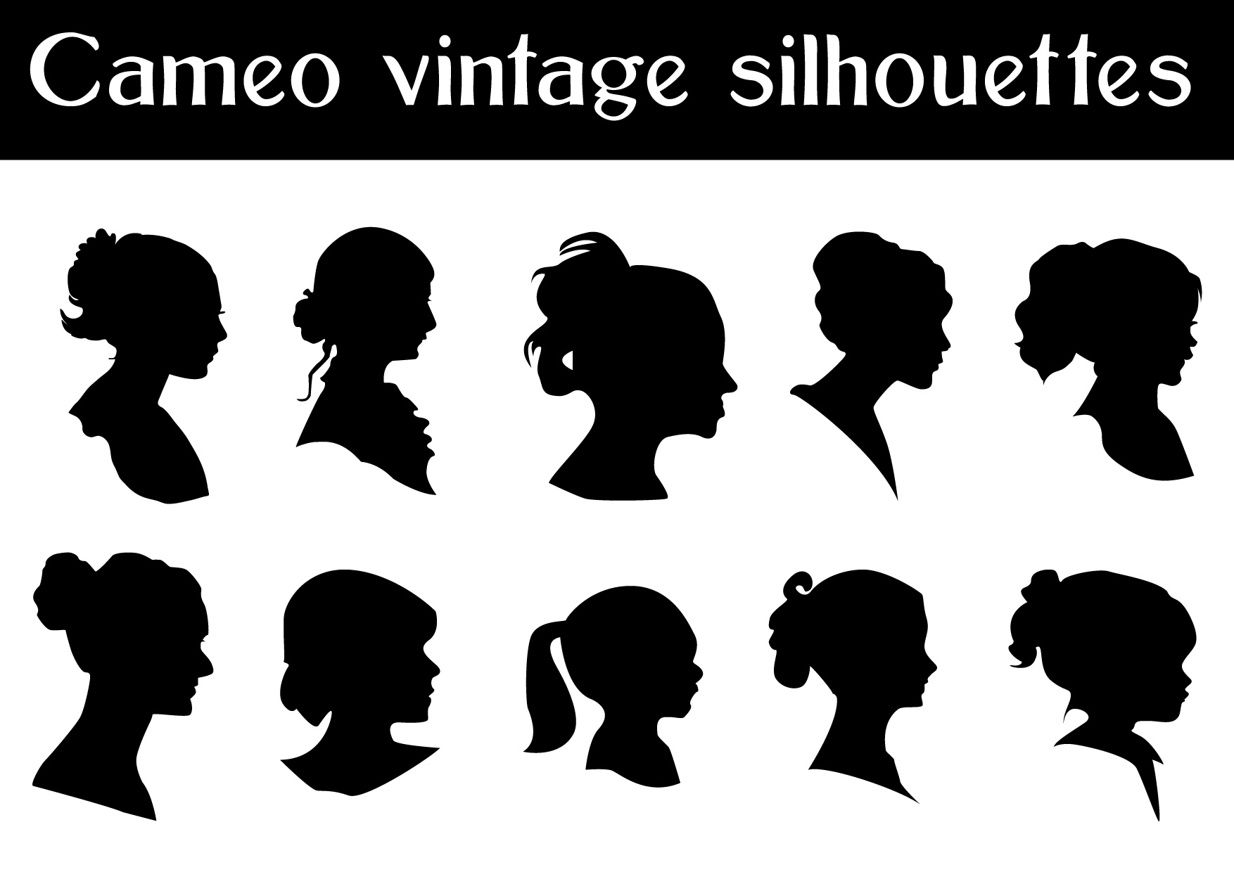 Free Vector Silhouettes Cameo