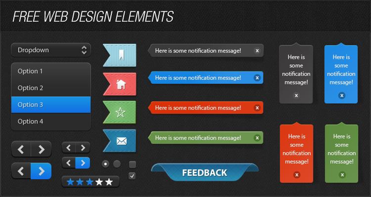 Free Web Design Elements