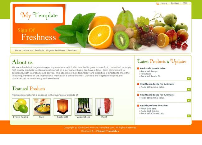 8 food website templates images fast food menu templates free food restaurant design. Black Bedroom Furniture Sets. Home Design Ideas