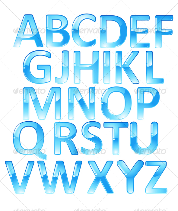 Bubble Letter Alphabet