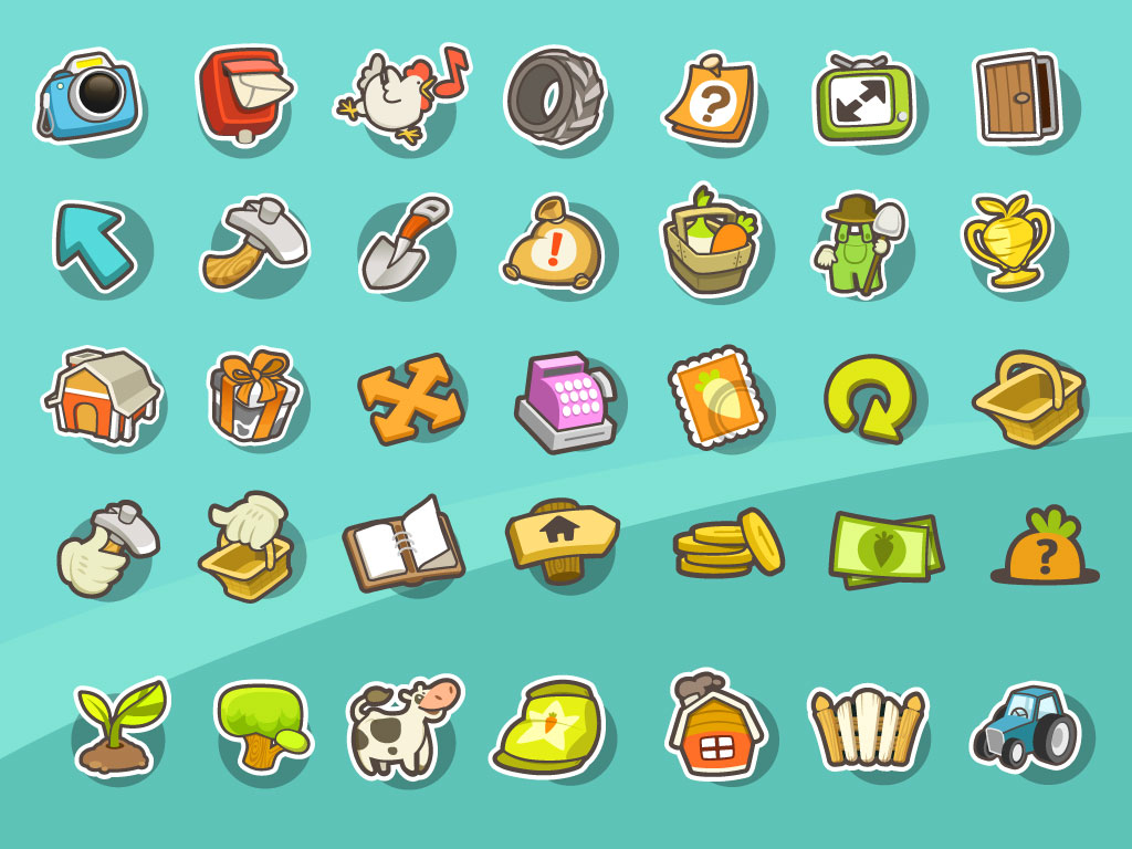 19 Game Icon Design Images