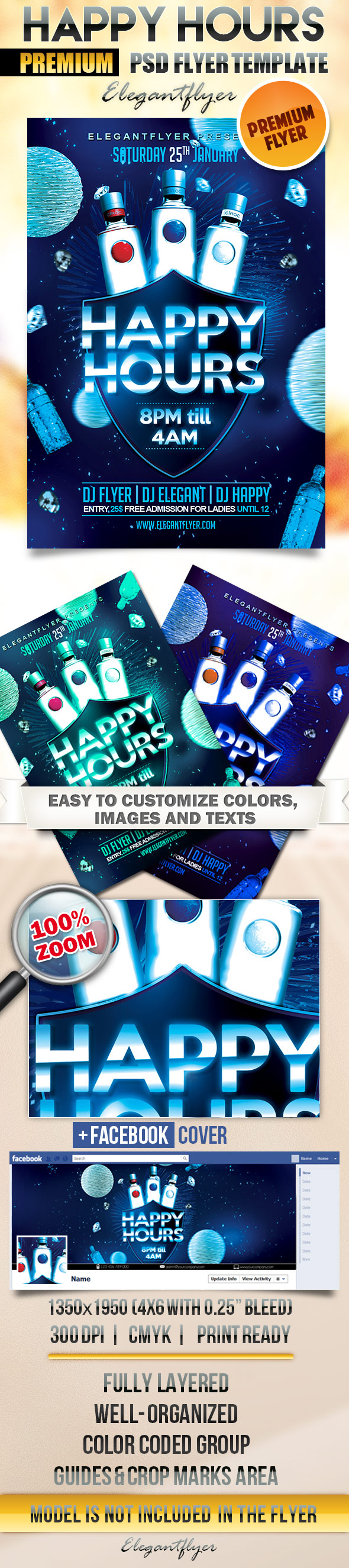 17 Happy Birthday Flyers Psd Images Birthday Party Flyer Templates