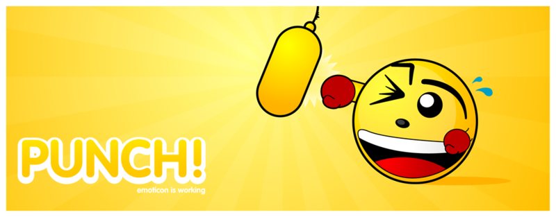 Hard Working Smiley Emoticons