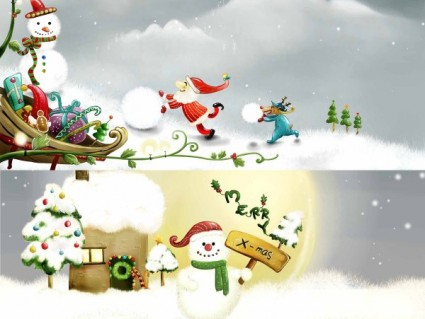 Illustrator Christmas Templates
