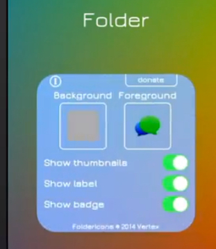 iOS 8 iPhone Folder Icon