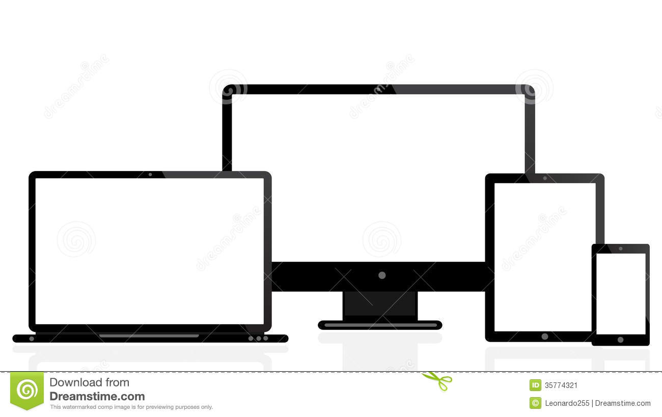 Laptop Tablet Mobile Icon