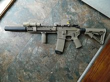 LWRC with Suppressor