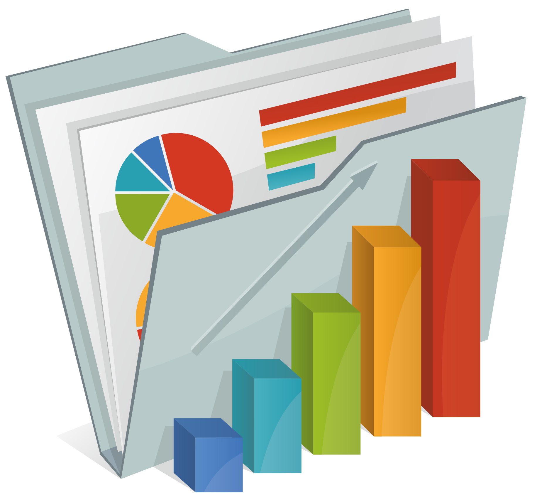 14 Reports And Analytics Icons Images