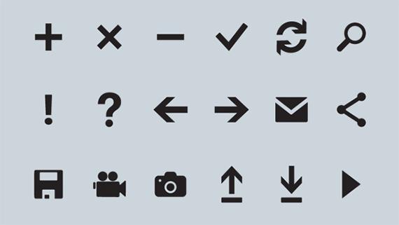 Metro Icons Vector