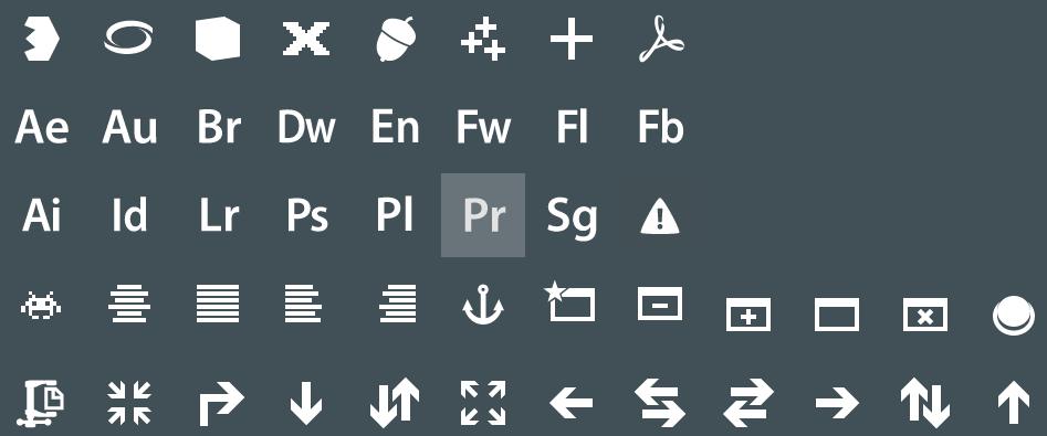 Metro UI Icons