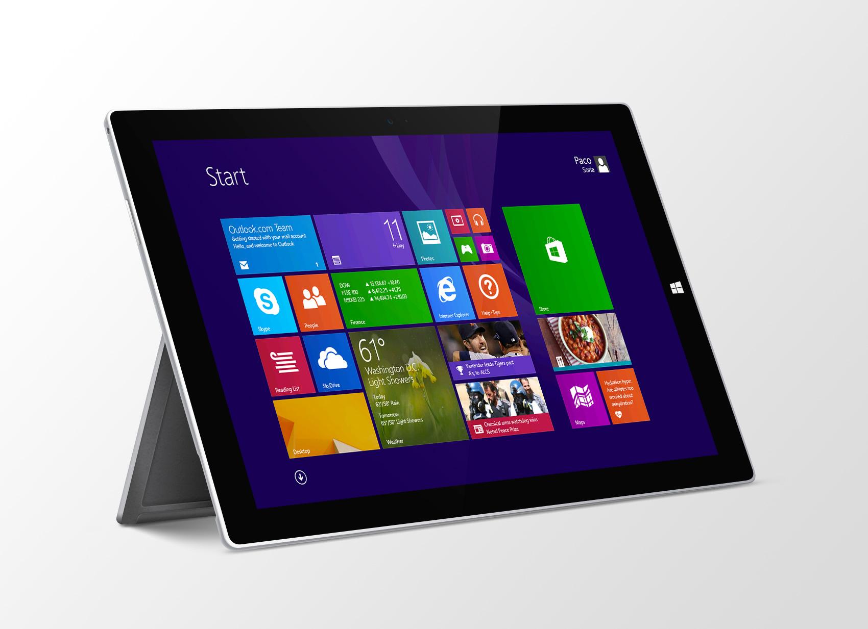 Microsoft Surface Mockup Pro 3