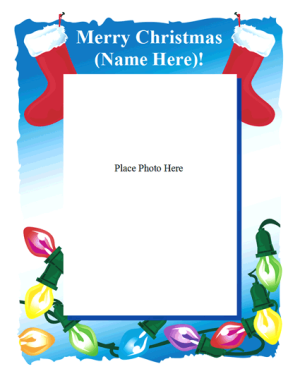 Microsoft Word Christmas Templates  Christmas Word Document Template