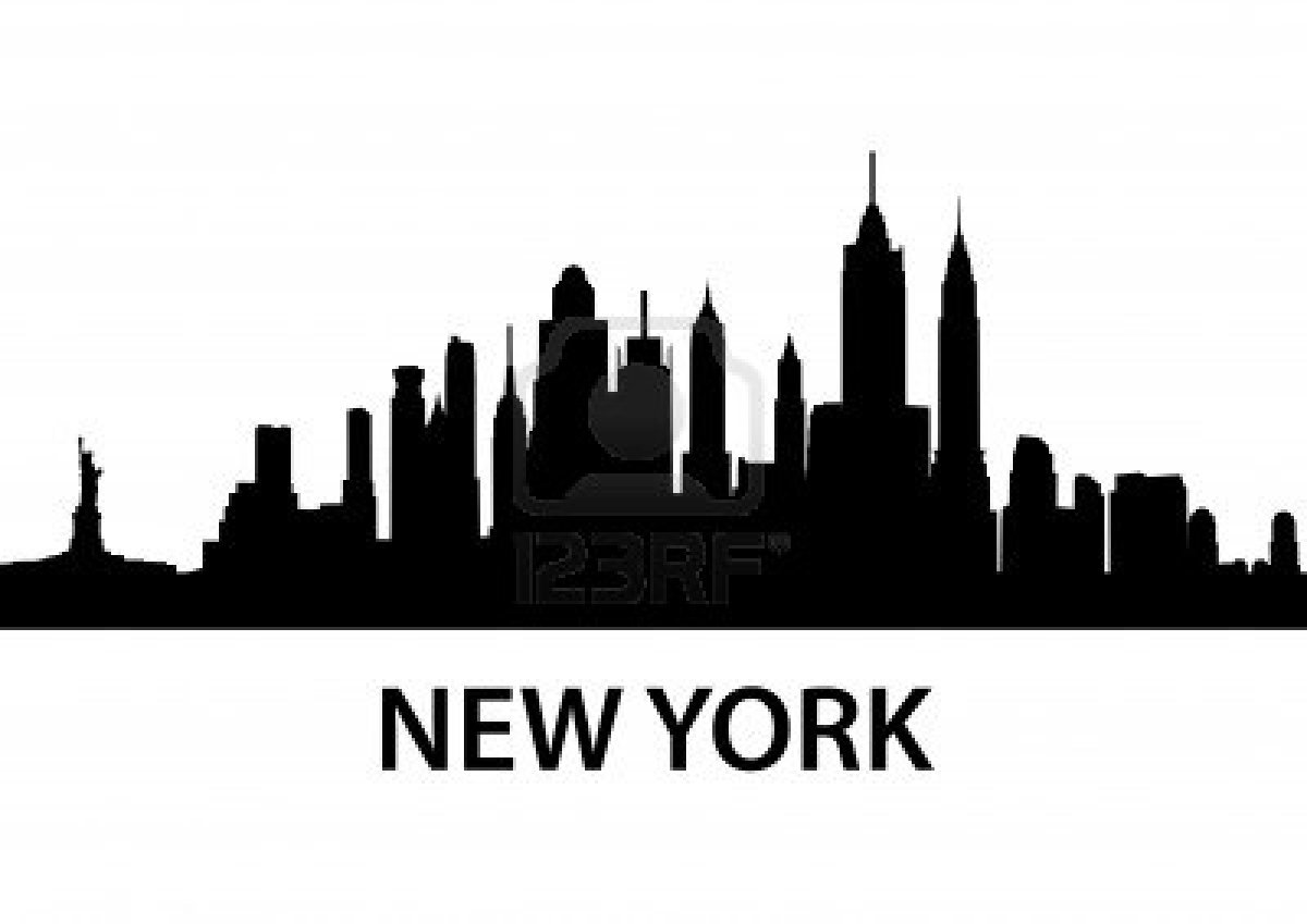 13 City Skyline Outline Vector Images