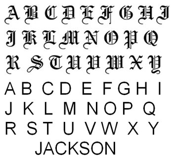 Old English Font Type Download