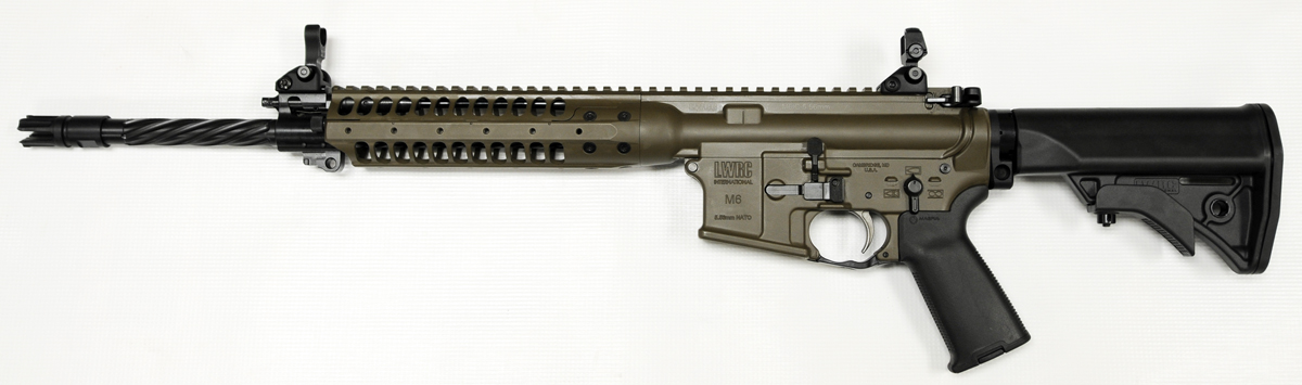 Patriot Brown LWRC IC Enhanced