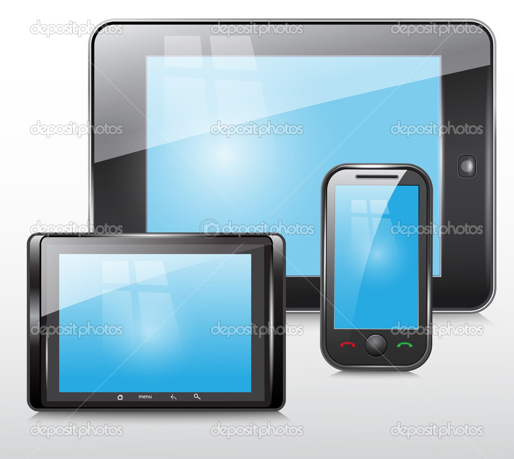 Phone and Tablet Icon