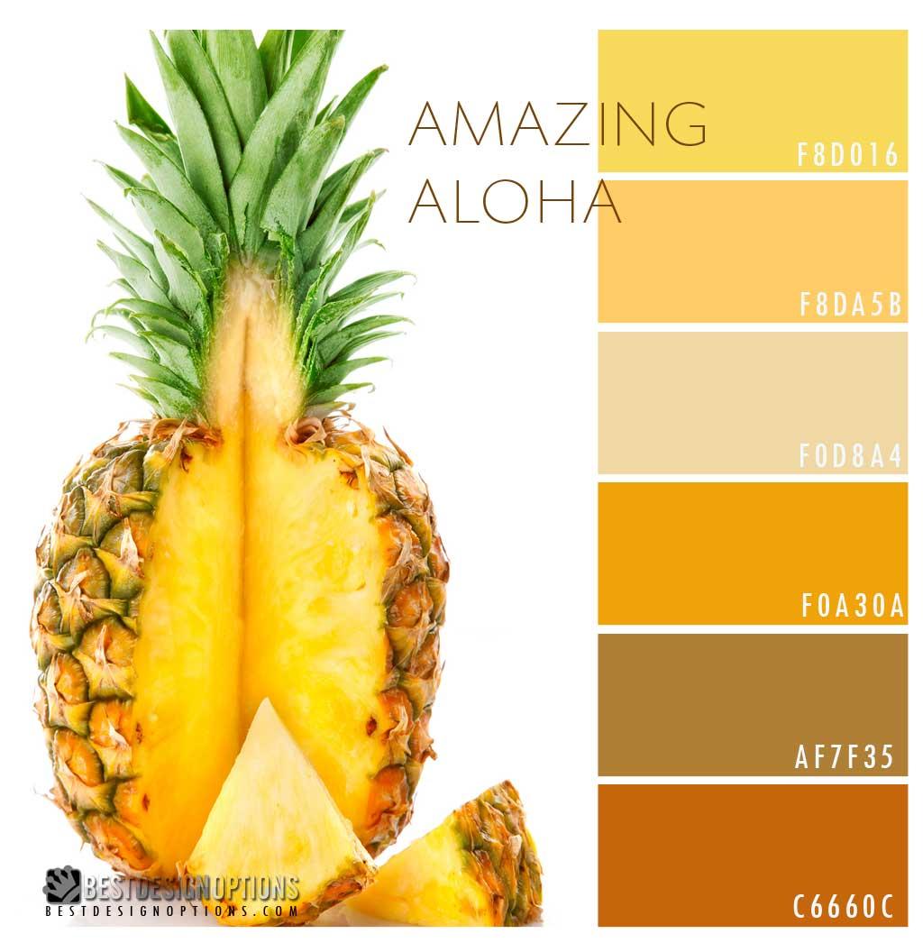 Pineapple Color Palette