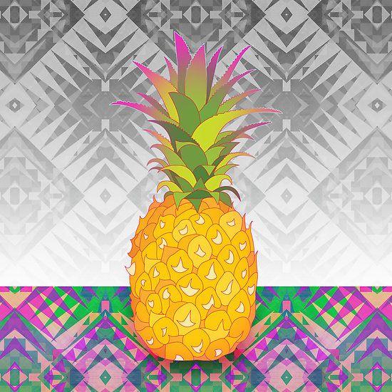 Pineapple Graphic Art