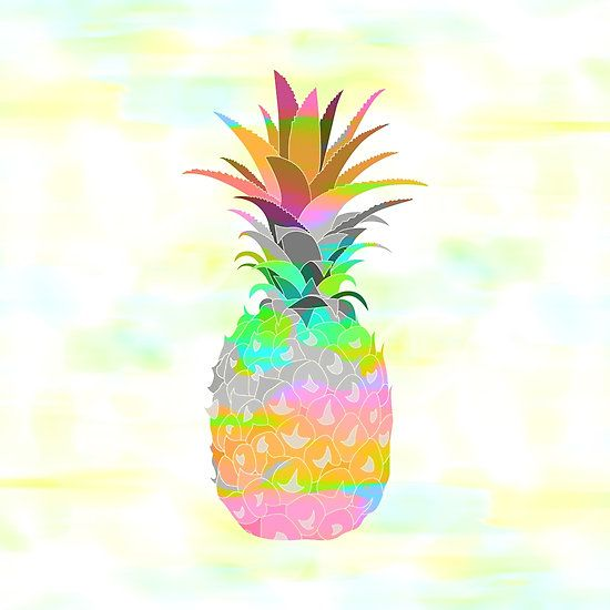 Pineapple Print Graphic