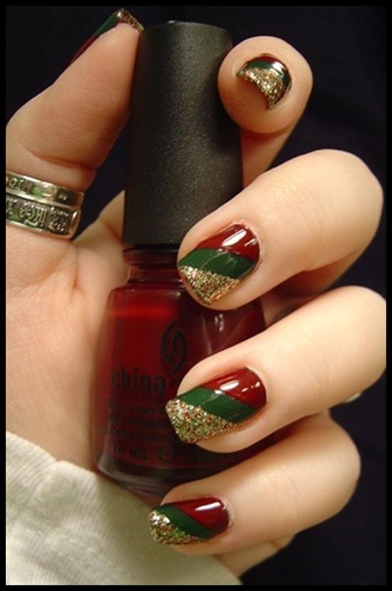 Pinterest Christmas Nail Art