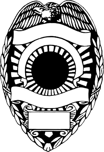 police patch design template - 12 vector police badge shape images police badge vector