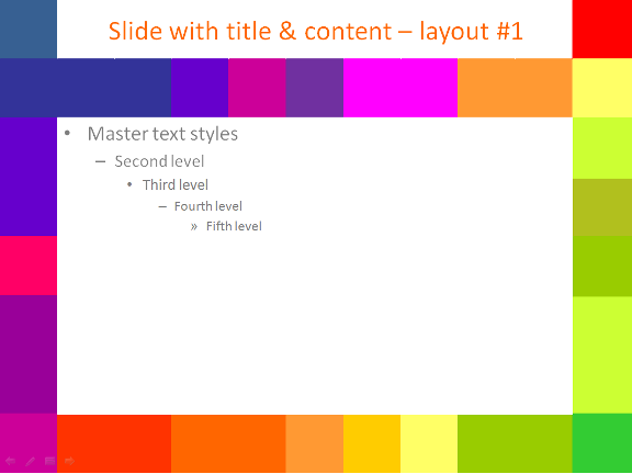 PowerPoint Templates Colorful