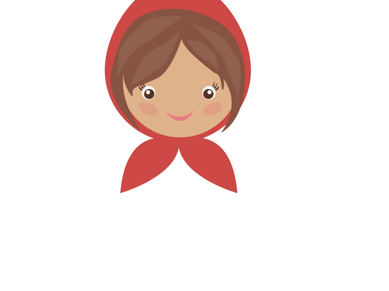 Red Riding Hood Character Design