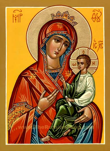 Russian Orthodox Icons Virgin Mary