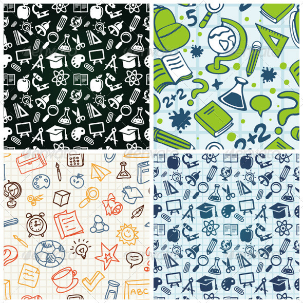 Seamless Patterns Icons