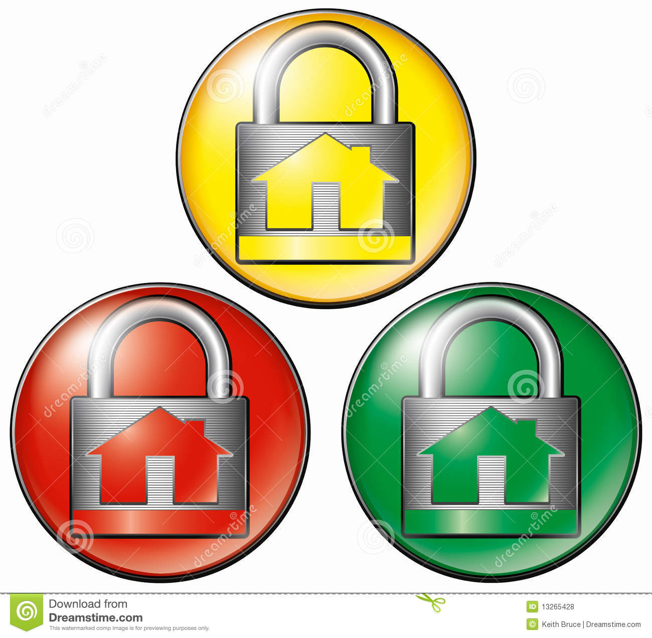 Security Systems Icons