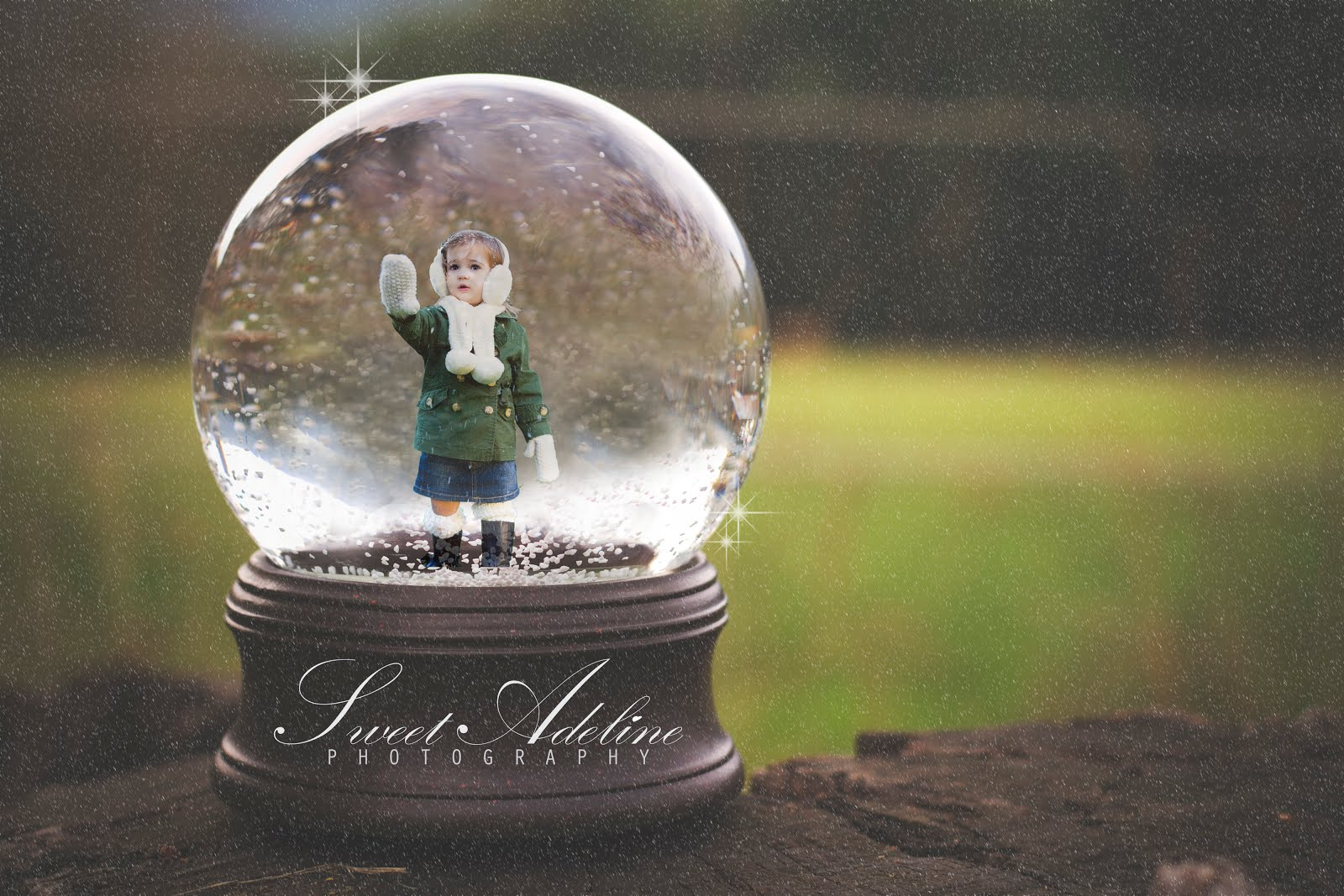 16 Snow Globe Template For Photoshop Images