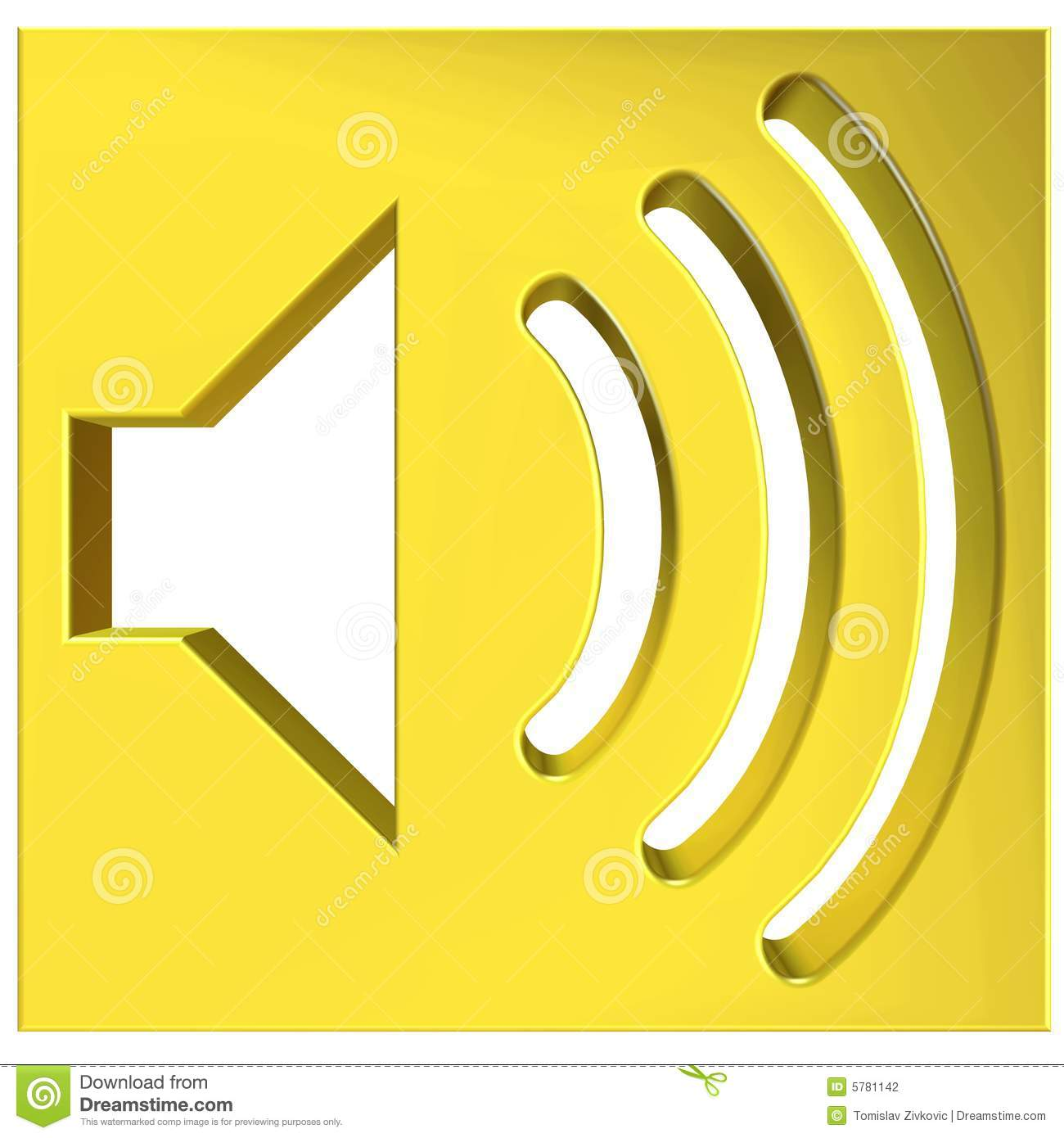 Symbol Speaker Icon