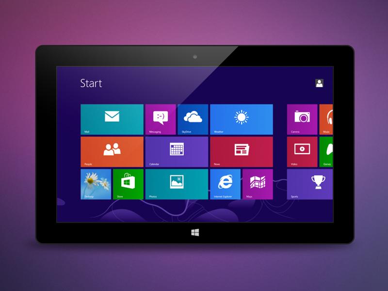 Template 3 Microsoft Surface Pro
