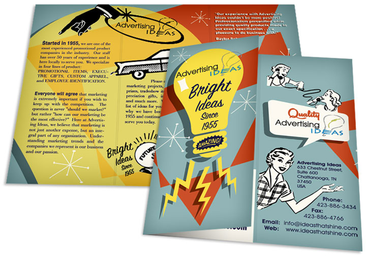 tri fold brochure design graphic - Ideas For Graphic Design Projects
