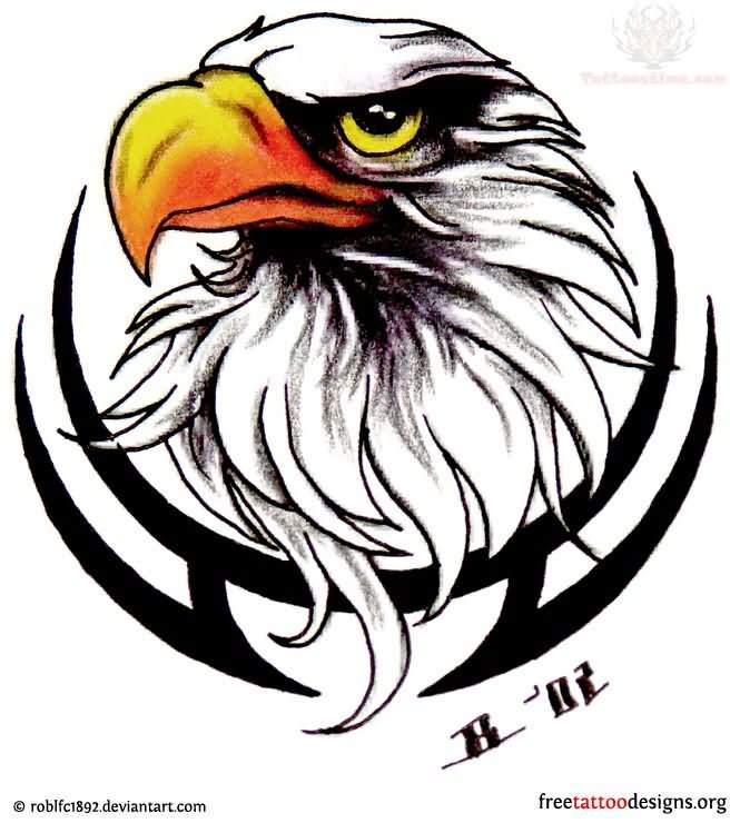 14ac7a9a2 13 Eagle Head Logo Design Images - Logo with Eagle Head, Eagles Logo ...