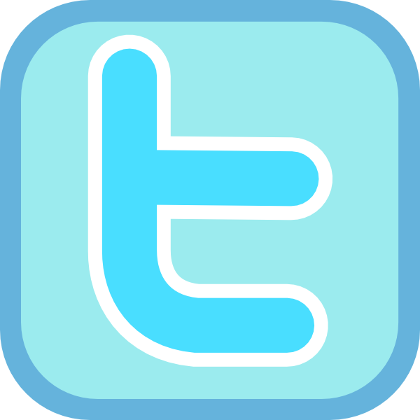 17 Twitter Icon Small Clip Art Images